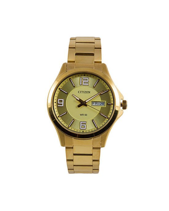 Citizen BF2008-56P - Stainless Steel Analog Watch For Men - Golden Price In Pakistan