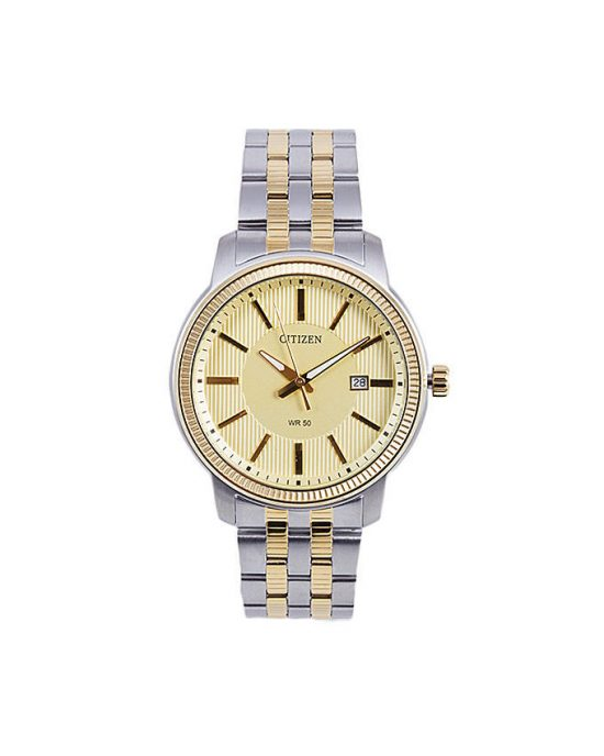 Citizen BI1086-59P - Stainless Steel Analog Watch For Men - Golden