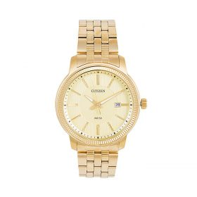 Citizen BI1089-51P - Stainless Steel Analog Watch For Men - Golden Price In Pakistan