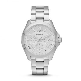 Fossil Women's AM4509 Cecile Multifunction Silver-Tone Stainless Steel Watch Price In Pakistan