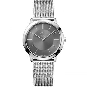 Calvin Klein K3M21124 - Minimal Watch for Men - Dark Grey Price In Pakistan