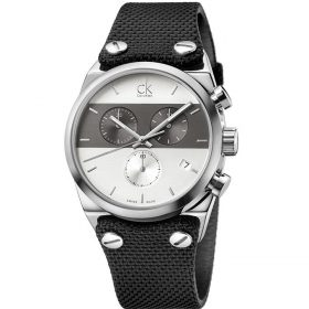 Calvin Klein K4B371B3 - Eager Watch for Men - Grey Price In Pakistan