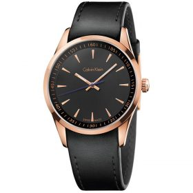 Calvin Klein K5A316C1 - Bold Watch for Men - Black Price In Pakistan