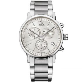 Calvin Klein K7627126 - Post-minimal Watch for Men - Silver Price In Pakistan