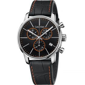 Calvin Klein K2G271C1 - City Watch for Men - Black Price In Pakistan