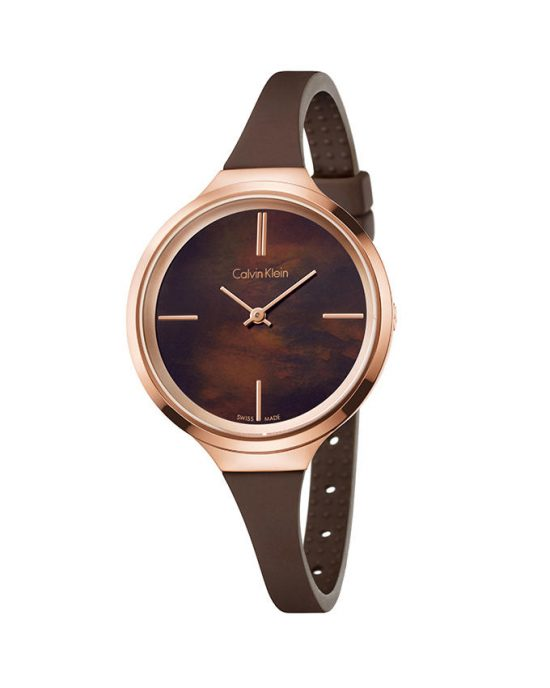 Calvin Klein K4u236FK - Lively Watch for Women - Brown Price In Pakistan