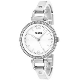 Fossil Women's ES3225 Georgia Glitz Silver-Tone Stainless Steel Watch Price In Pakistan