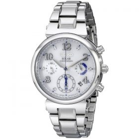 Seiko Women's SSC863 Analog Display Analog Quartz Silver Watch Price In Pakistan