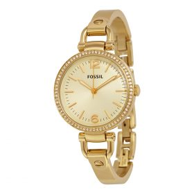 Fossil End of Season Georgia Analog Gold Dial Women's Watch ES3227 Price In Pakistan