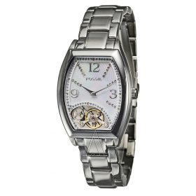 Fossil Women's Twist Blue MOP Dial ME1021 Stainless-Steel Quartz Watch with Mother Of Pearl Dial Price In Pakistan