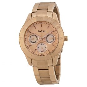 Fossil Ladies Rose Gold Ip Multi-Eye Analogue Stella Watch ES2859 Price In Pakistan