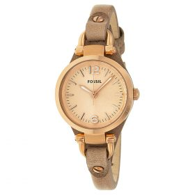 Fossil Analog Rose Gold Dial Women's Watch ES3262 Price In Pakistan