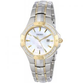 Seiko Women's SUT124 Analog Display Japanese Quartz Two Tone Watch Price In Pakistan
