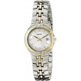 Seiko Women's SXD646 Two-Tone Stainless Steel Watch Price In Pakistan