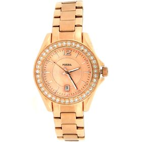 Fossil Riley Analog Gold Dial Women's Watch ES2889 Price In Pakistan