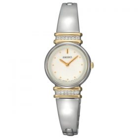 Seiko Women's SUJG32 Crystal Bangle White Dial Watch Price In Pakistan