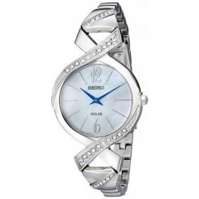 Seiko Women's SUP263 Analog Display Analog Quartz Silver Watch Price In Pakistan