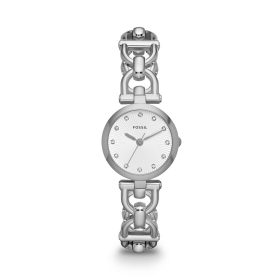 Fossil Women's Olive ES3348 Silver Stainless-Steel Analog Quartz Watch Price In Pakistan