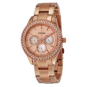 Fossil Women's ES3003 Pink Stainless-Steel Quartz Watch Price In Pakistan