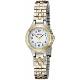 Seiko Women's SUP100 Solar Expansion Two-Tone Stainless Steel Classic Watch Price In Pakistan