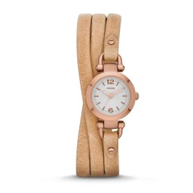 Fossil ES3477 Ladies Georgia Sand Leather Strap Watch Price In Pakistan