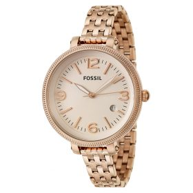Fossil Ladies Rose Gold Tone Bracelet Watch ES3130 Price In Pakistan