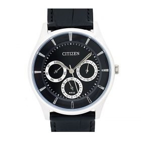 Citizen Black Leather Analog Watch For Men Price In Pakistan