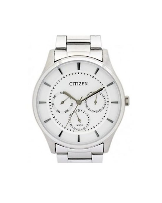 Citizen AG8351-86A - Silver Stainless Steel Analog Watch for Men Price In Pakistan