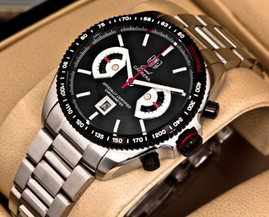 TAG Heuer Grand Carrera Calibre 17 RS Black Dial price in pakistan