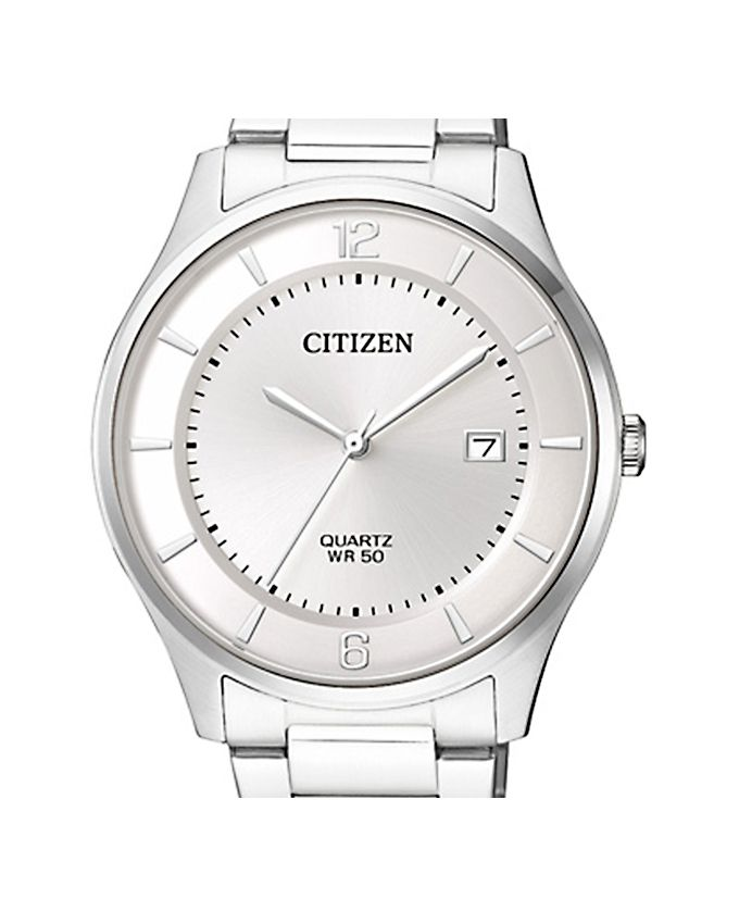 Citizen Silver Stainless Steel Analog Watch For Men Price In Pakistan For Men With Free Delivery Nationwide Available Pk