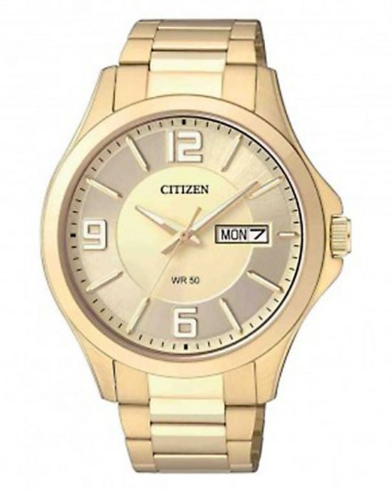 Citizen Gold Stainless Steel Analog Watch For Men Price In Pakistan