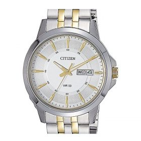 Citizen White Stainless Steel Analog Quartz Watch For Men - BF2018-52A Price In Pakistan
