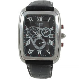 Citizen AT0190-15E - Analog Watch for Men - Black Price In Pakistan