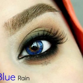 EyeDia Color Contact Lenses Blue Rain
