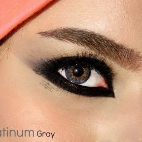 EyeDia Color Contact Lenses Platinum Grey