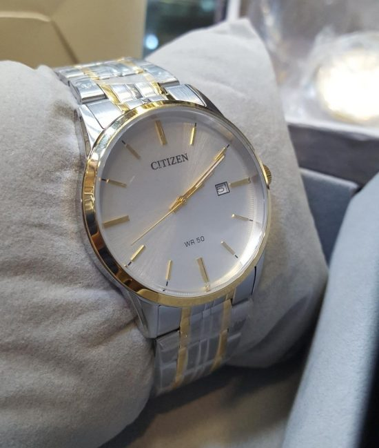 Citizen Silver Copper Date Display Men's Watch