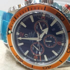 Omega Sports Edition Chronograph Silver Body Men's Watch