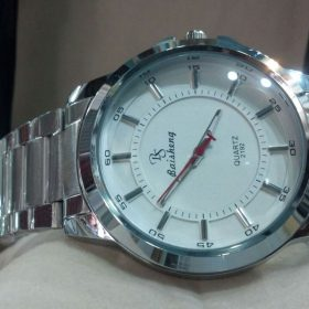 Baishang White Dial Stainless Steel Men's Watch