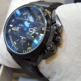 Diesel Chronograph Deep Black Edition Men's Watch