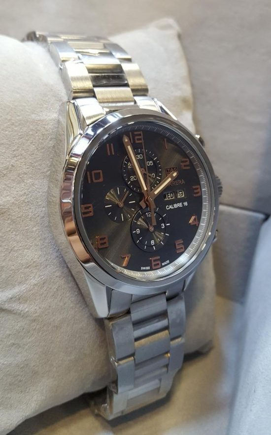 Tag Heuer Carrera Calibre 16 Date Day Men's Watch