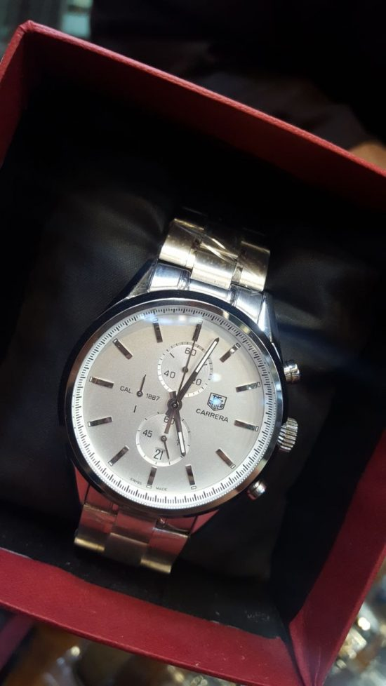 Tag Heuer Carrera Classic Chronograph Silver Men's Watch