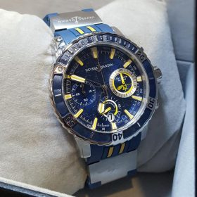 Ulysse Nardin Chronograph Marine Blue Edition Men's Watch