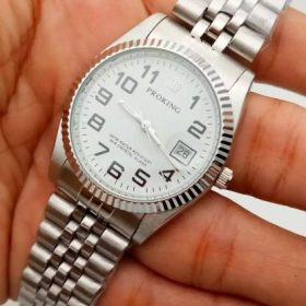 Proking B4 Classic White Dial Silver Body Price In Pakistan