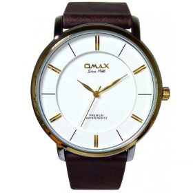 Omax SX7001NQ23 Men Wrist Watch White & Brown