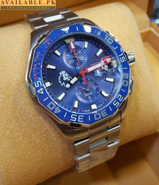 Tag Heuer Carrera Calibre 16 Chronograph Extra Time Blue Dial Watch Price In Pakistan