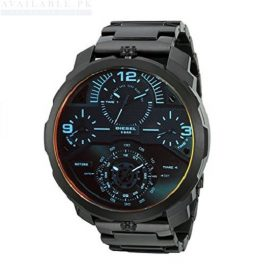Diesel DZ7362 Machinus Analog Display Quartz Black Watch