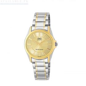 Q&Q Silver & Gold Men's Watch Q702400Y Price In Pakistan