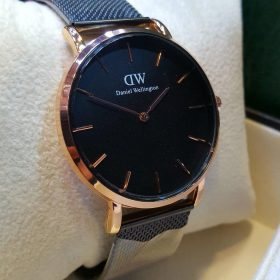 Daniel Wellington Classic RoseGold Black 40MM CornWall Watch Price In Pakistan