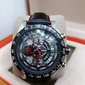 Tag Heuer Tachymeter Black Round Date Chronograph Men's Watch Price In Pakistan