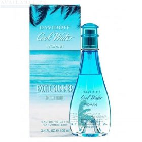 DAVIDOFF Cool Water Exotic Summer Women 100 ml